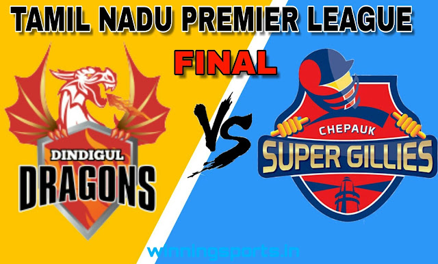 Dream11 team for DIN vs CHE Final Match | Fantasy cricket tips | Playing 11 | TNPL dream11 Team | dream11 prediction |