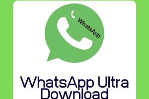 WhatsApp Ultra v1.70 APK Download [2020 Latest]