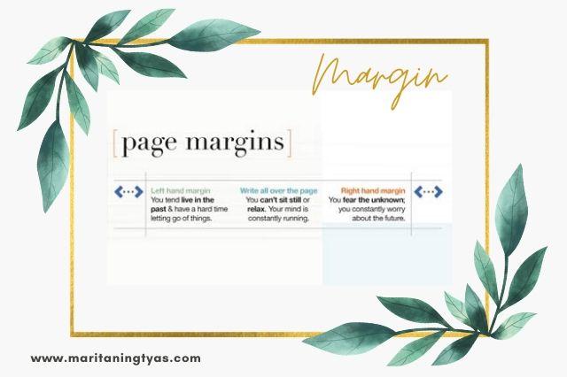 jenis margin pada grafologi