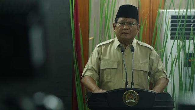 Prabowo: Hubungan Saya dan Pak Amien Rais Mau Dirusak