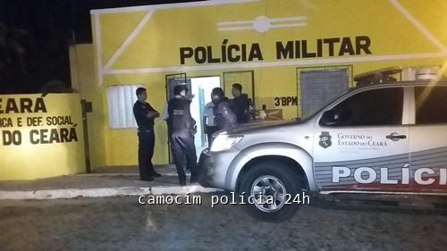 PM de Barroquinha apreendem menor suspeito de furtar residência de pastor
