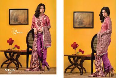 Shariq Textiles New Summer Lawn Collection 2017 Vol-1