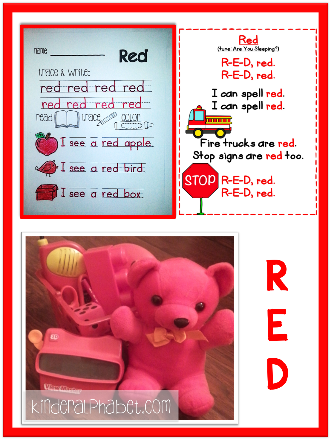 Free Red Printables