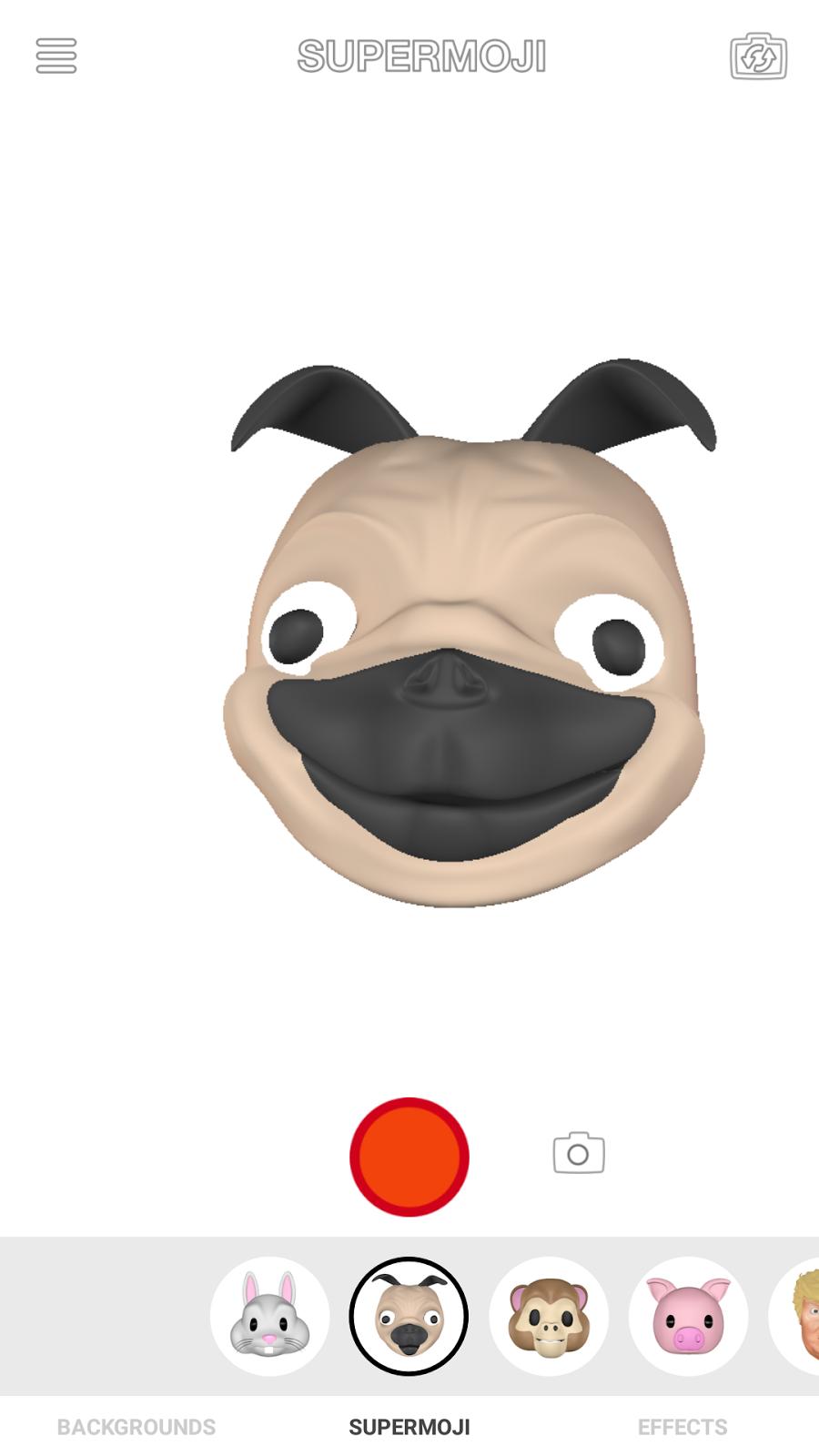 Dog Supermoji