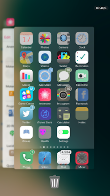 But we want to have more features in iOS X AppSwitcher
