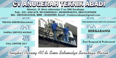 Bongkar Pasang AC di Simo Sidomulyo Surabaya Murah