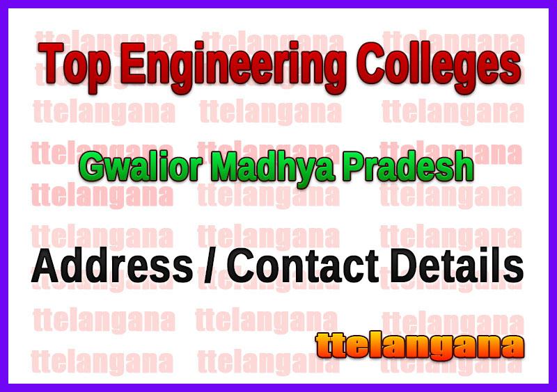 Top Engineering Colleges in Gwalior Madhya Pradesh