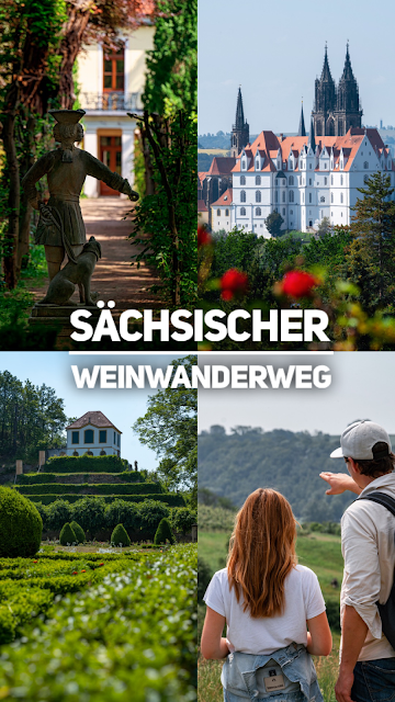 Sächsischer Weinwanderweg | Etappe 6 Von Meißen bis Diesbar-Seußlitz | Wandern in Sachsen | Region Dresden-Elbland 32