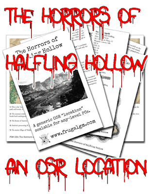 The Horrors of Halfling Hollow
