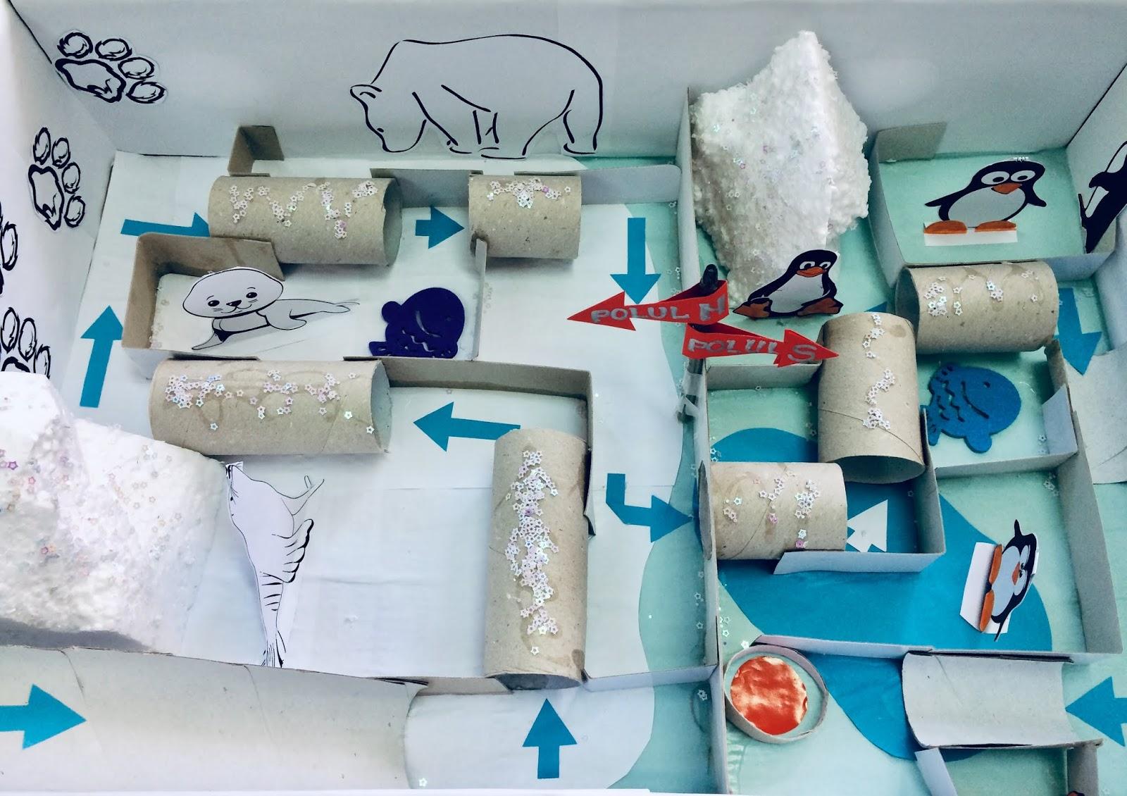 Animale din Zonele Polare- între dioramă și joc