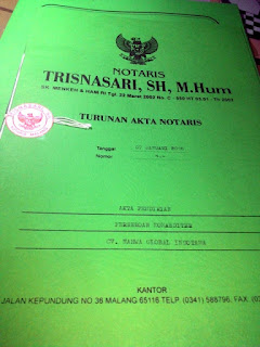 Legalitas Nahwa Travel Malang Juanda