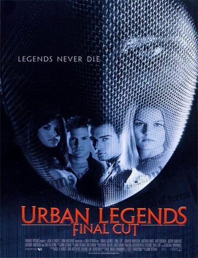 Ver Leyenda urbana 2 (Urban Legends: Final Cut) (2000) Online