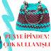 Penye ipten çanta yapımı | Penye ipinden şık örgü plaj çantası yapımı - VİDEO