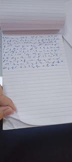 Shorthand notepad