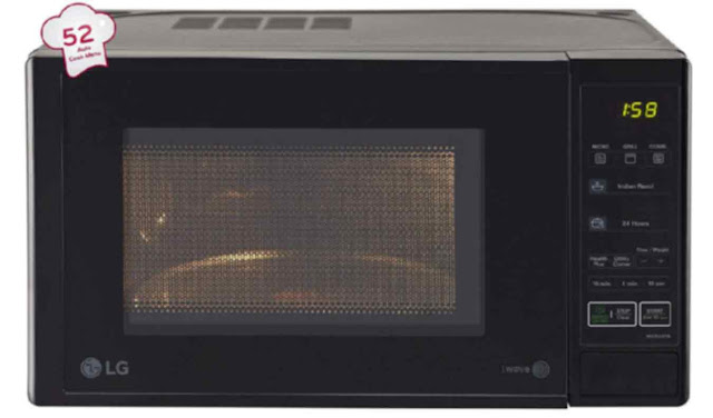 LG MH2044DB Grill 20L - best microwave oven