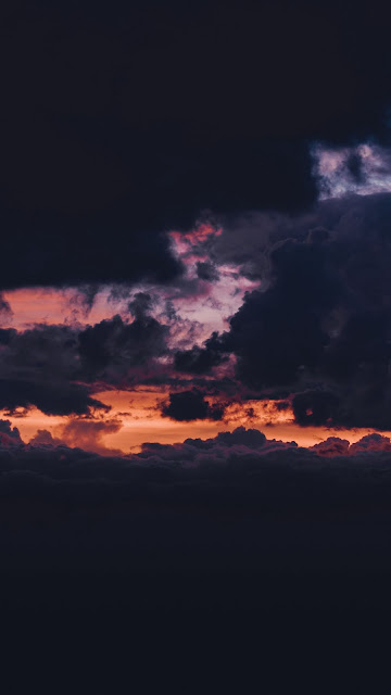 Sunset Clouds iphone Full HD wallpaper