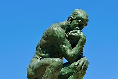 "Rodin's The Thinker"""