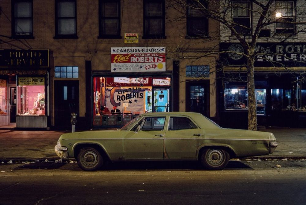 Striking Photographs Of Lonely Parked Cars And Deserted