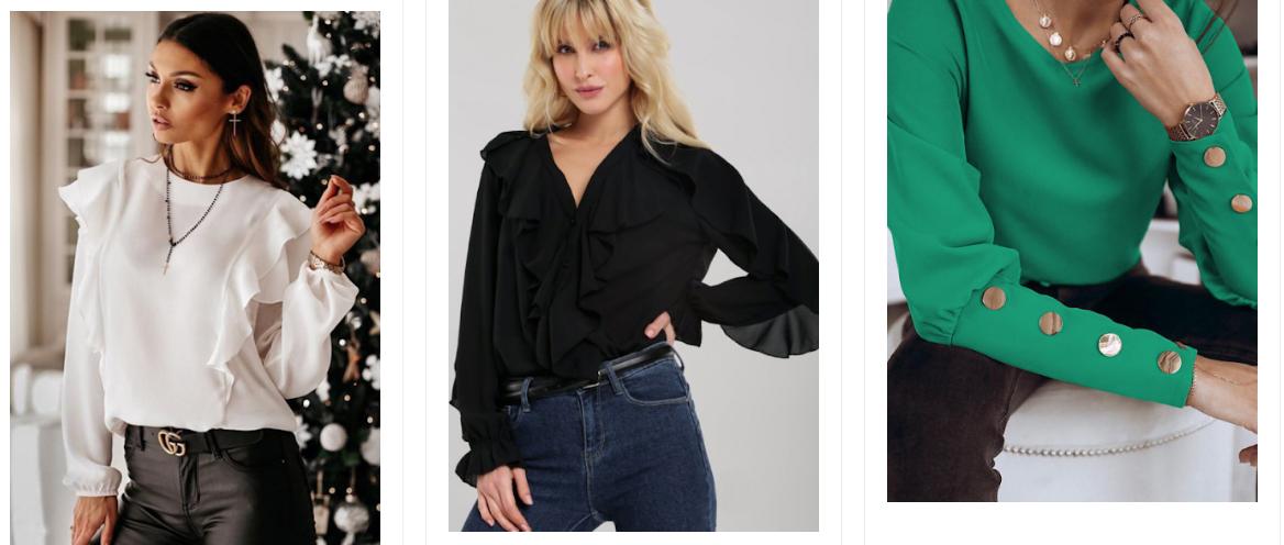 Bluze de dama elegante si frumoase ieftine de ocazii si de zi la moda