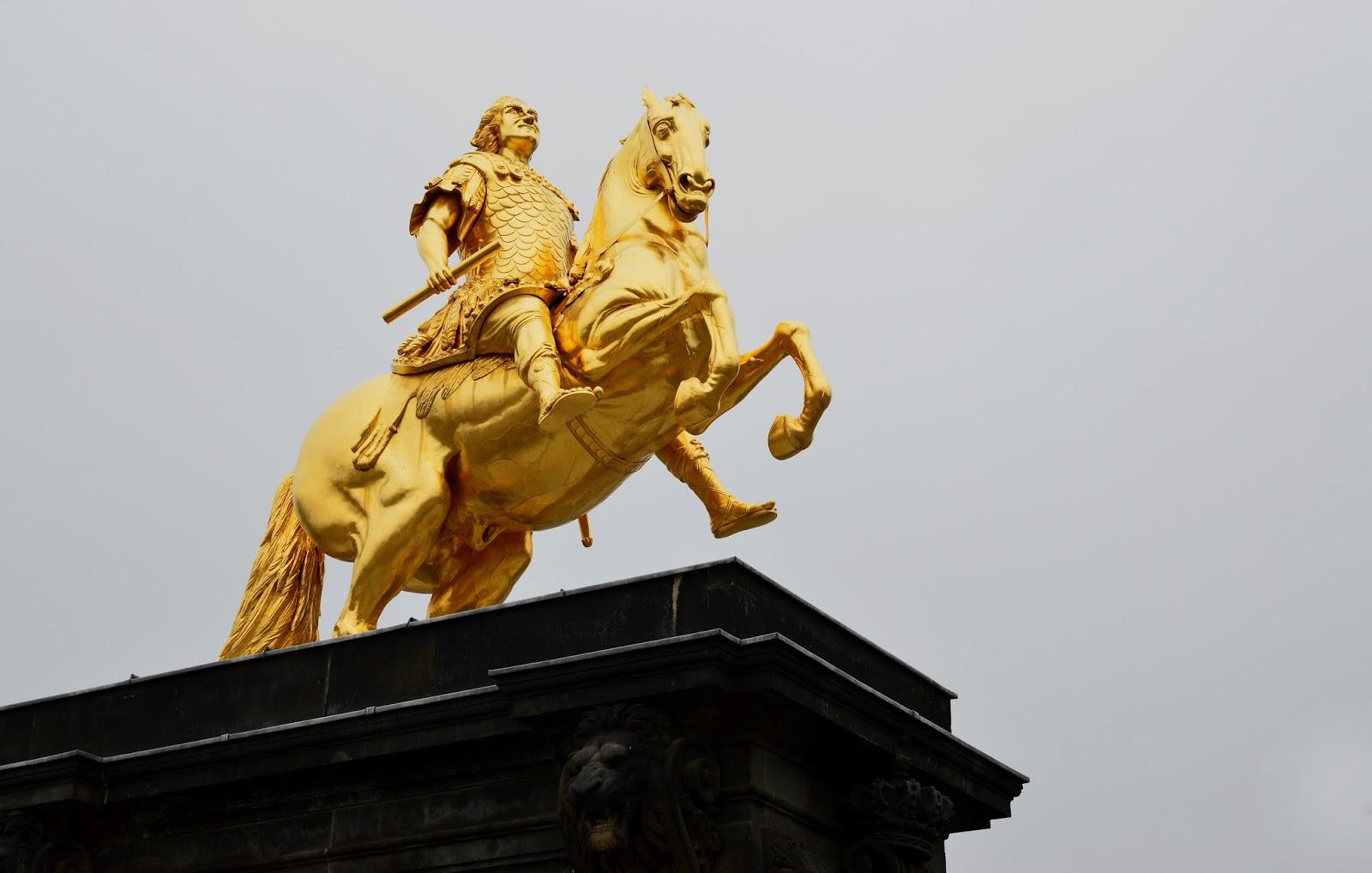 Goldener Reiter - Złoty Jeździec