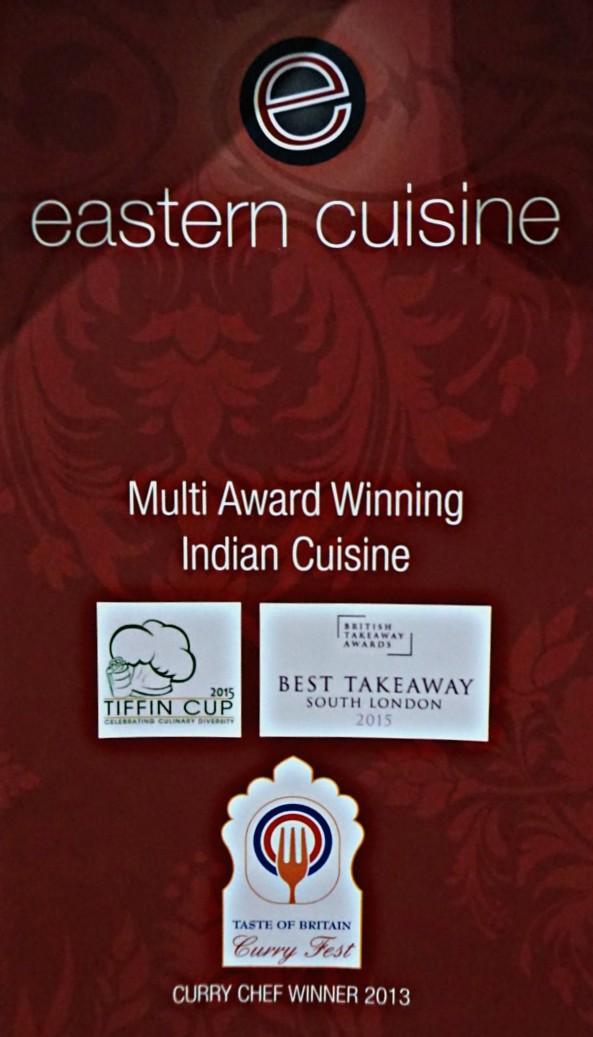 EASTERN CUISINE INDIAN TAKEAWAY