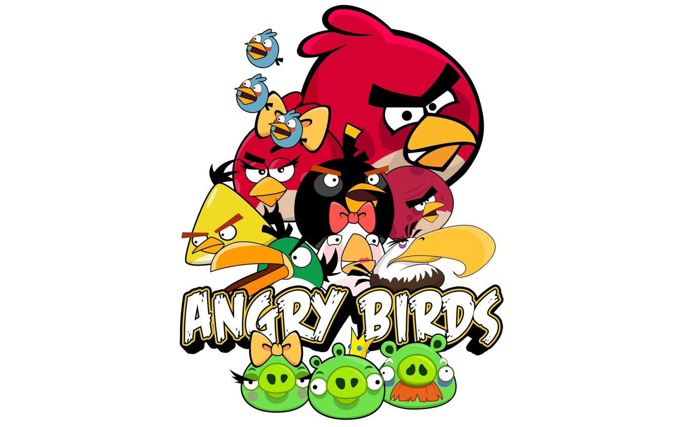 Angry Birds kids Coloring Pages - Free Printable Kids Coloring Pages