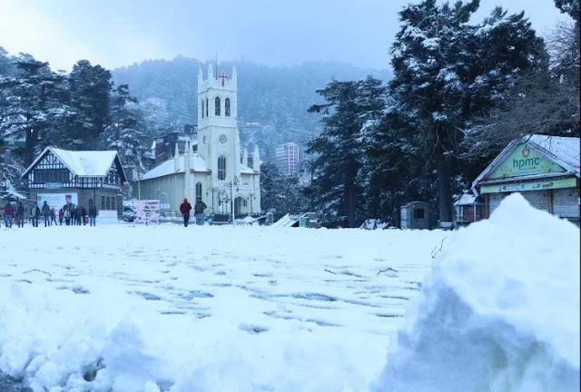शिमला में 15 साल बाद बिना बर्फबारी के ही गुजरेगा जनवरी