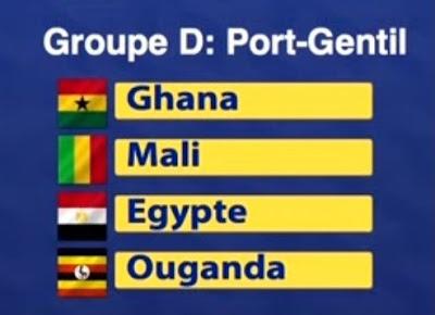 المجموعة الرابعة منتخب مصر