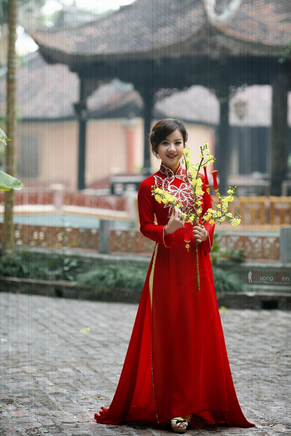 Ảnh đẹp girl xinh Áo dài truyền thống Việt Nam - Ảnh 12