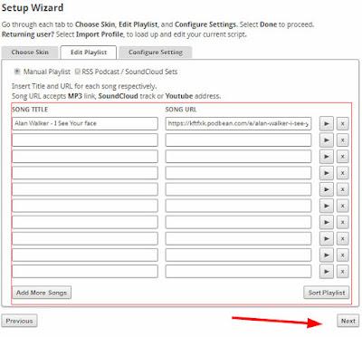 Cara Memasang Lagu MP3 di Blog