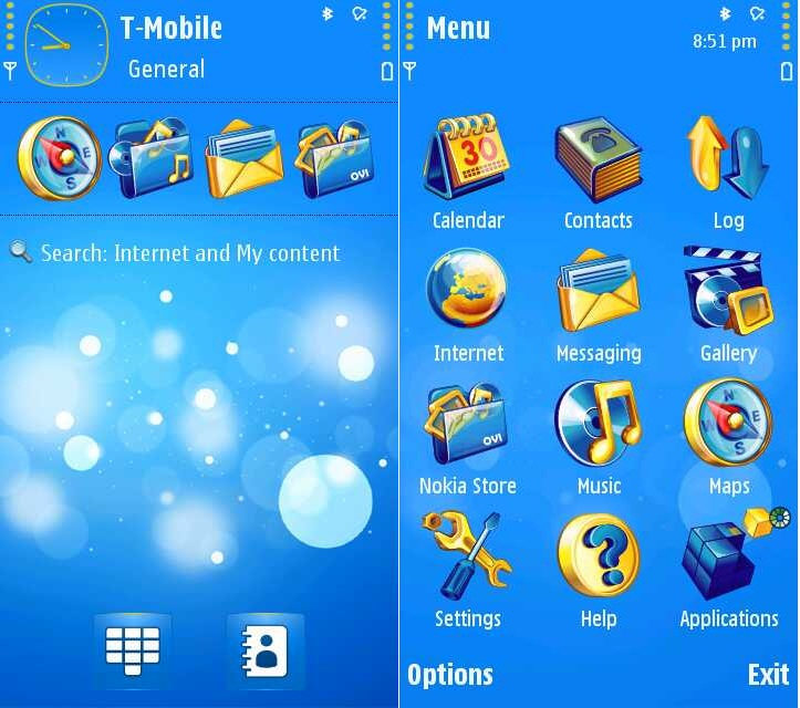 gadget reviews download theme bubbles for nokia 5800 n97 and x6