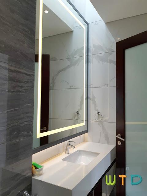 Desain Kabinet WC Wastafel Vanity