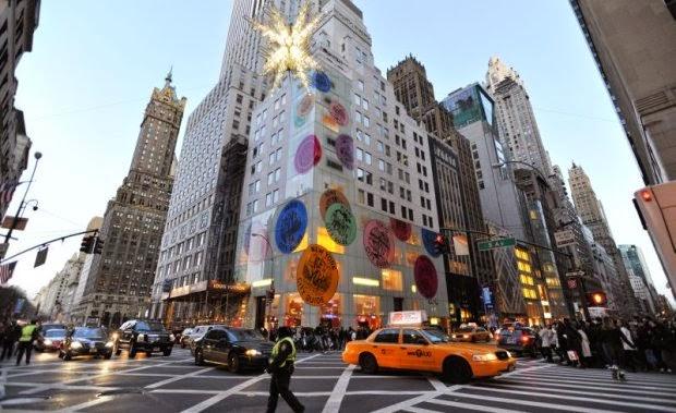 Melhores lojas na Quinta Avenida em Nova York