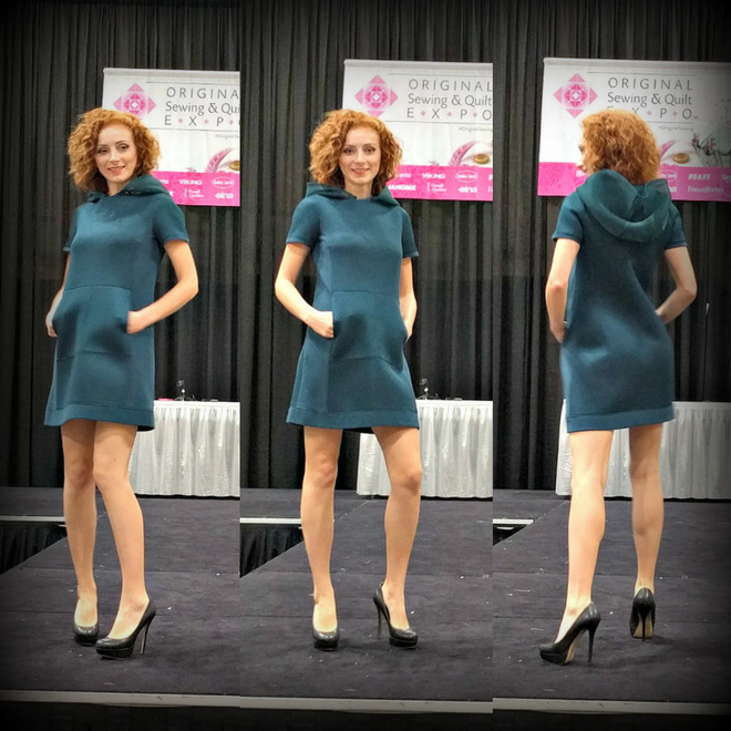 BurdaStyle hosted a fashion show at the Sewing and Quilt Expo.