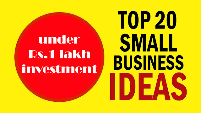 20 Small Business Ideas | Amazing 20 tricks to do business in less money