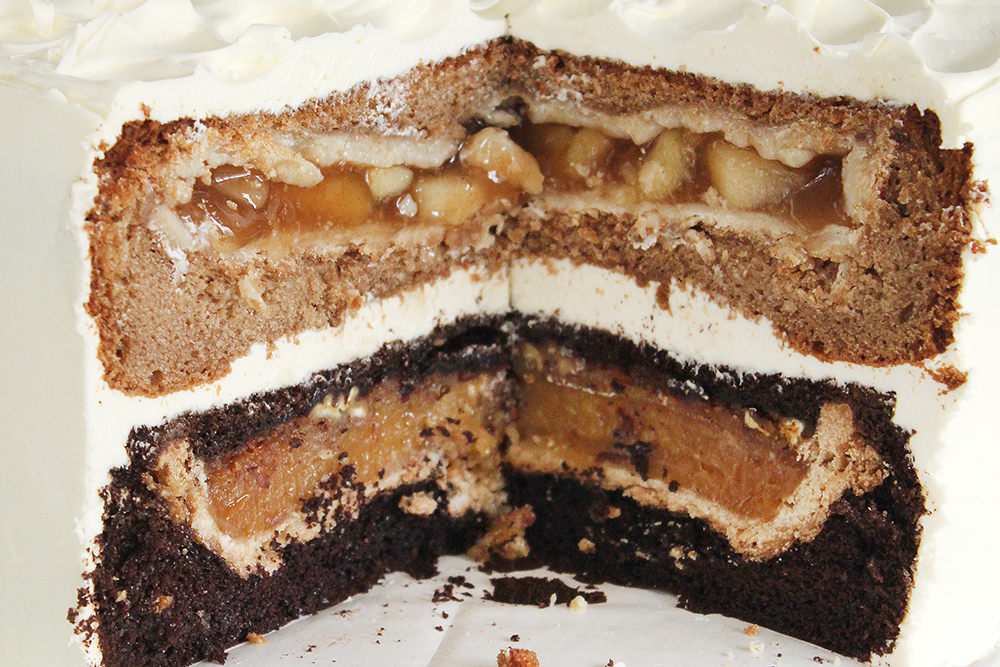 Apple And Pecan Cake