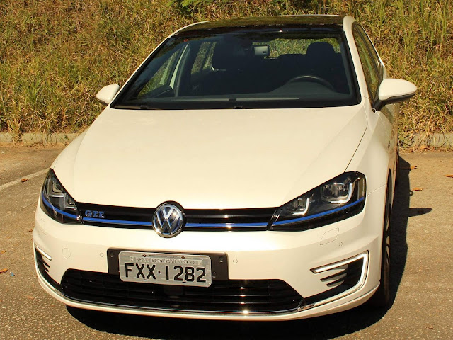 VW Golf GTE híbrido elétrico - Brasil - teste