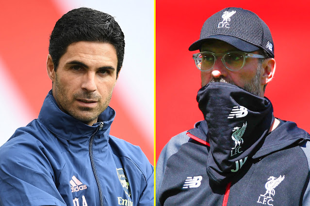 Mikel Arteta demands Arsenal change against Liverpool from victory over Jurgen Klopp
