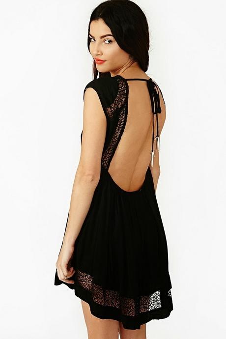 vestidos de moda negro