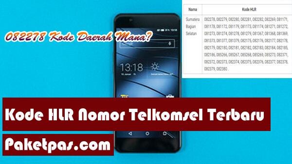 Kode HLR Nomor Telkomsel