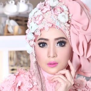 Contoh Model Hijab Kebaya Pengantin Paling Mudah Cantik