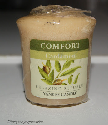 Zapachowa środa - Yankee Candle Comfort Cardamom