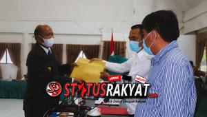 Pjs Bupati Toba Harianto Butarbutar Sampaikan Nota Pengantar RAPBD 2021