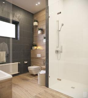 Arredamento e dintorni idee per bagno - Piastrelle bianche e nere ...