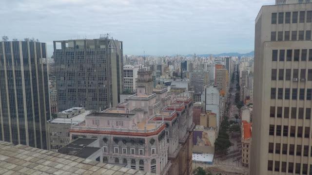 Vista desde o Farol Santander