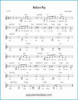 chord nature boy lagu jazz standar