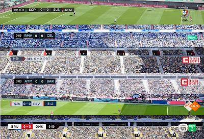 PES 2020 MEGA Scoreboard Package AIO by Spursfan07