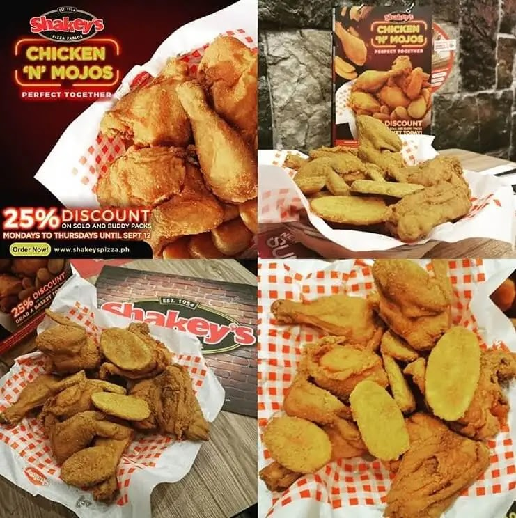 Shakey's Chicken 'N' Mojos: Perfect Together