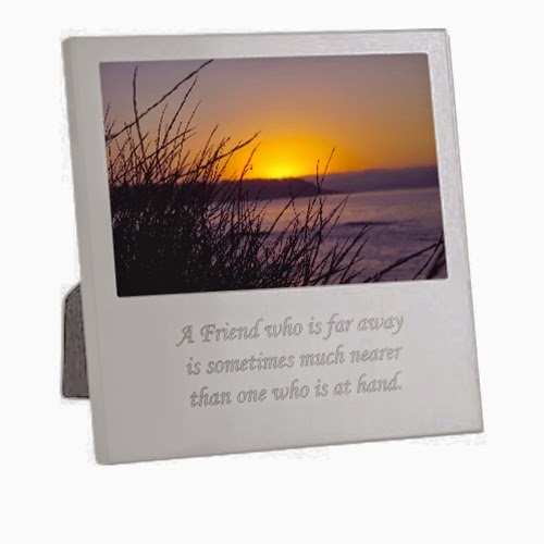 silver-plated engraved picture frame