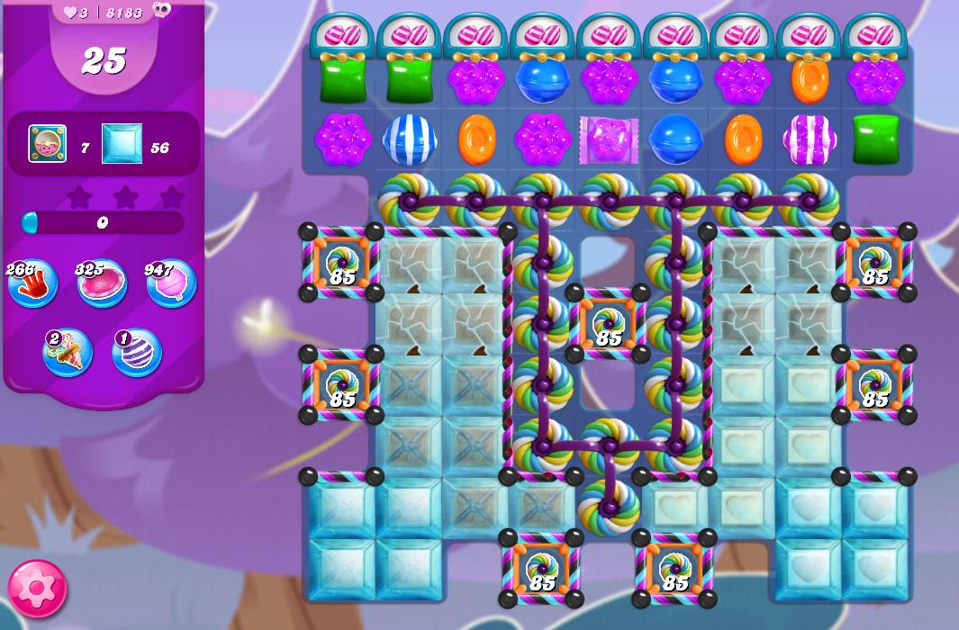 Candy Crush Saga level 8183